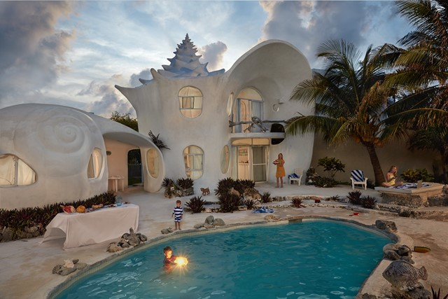 The Shell House, Isla Mujeres, Mexico